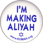 [Pin: I'M MAKING ALIYAH]
