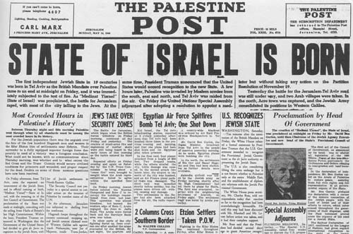 israel is born herzlichen gl�ckwunsch norman krayer