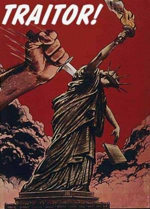 traitor statue of liberty